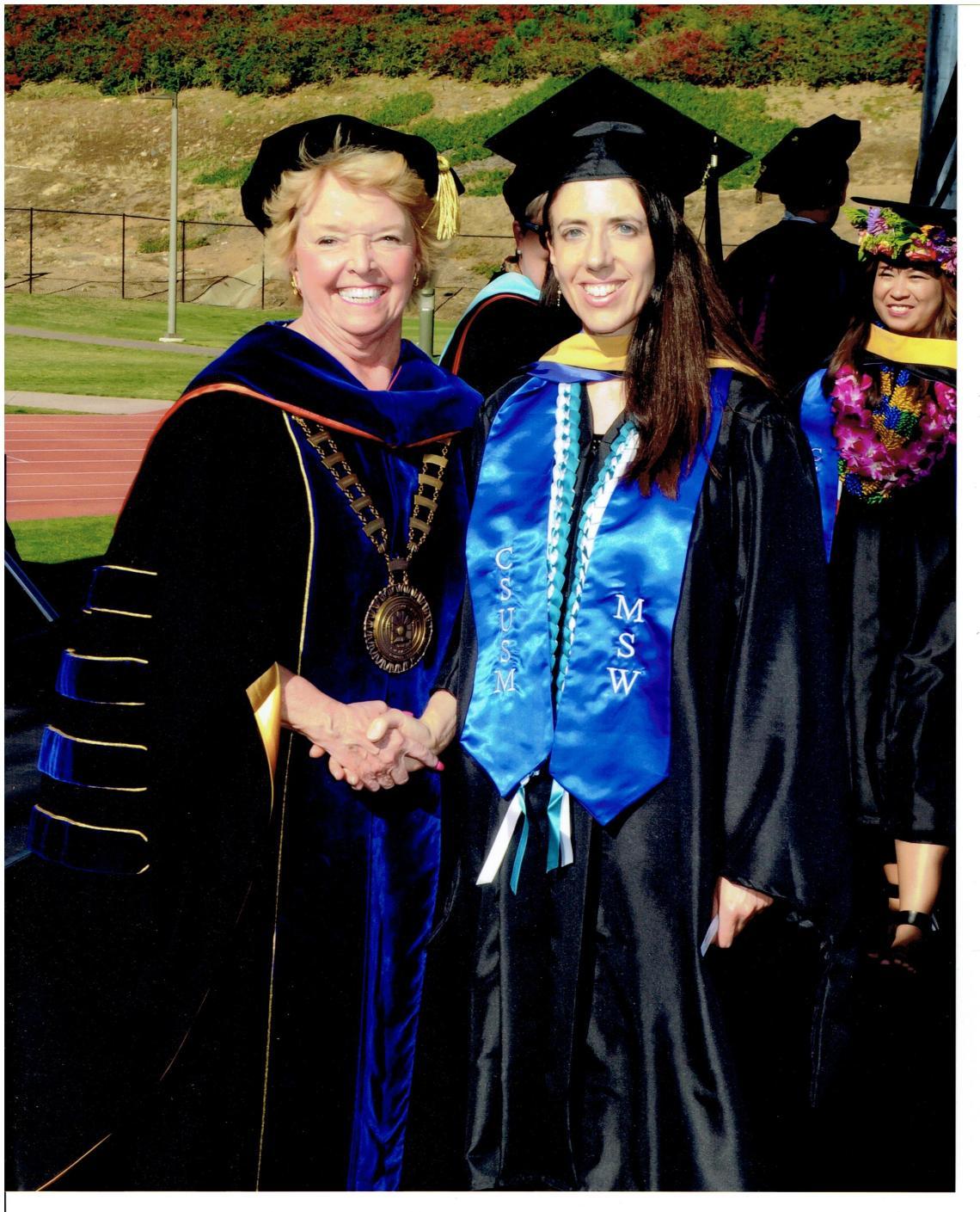Serena's SMCSU Graduation
