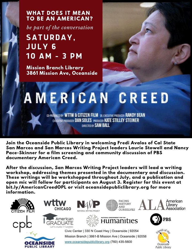 American.Creed..flier